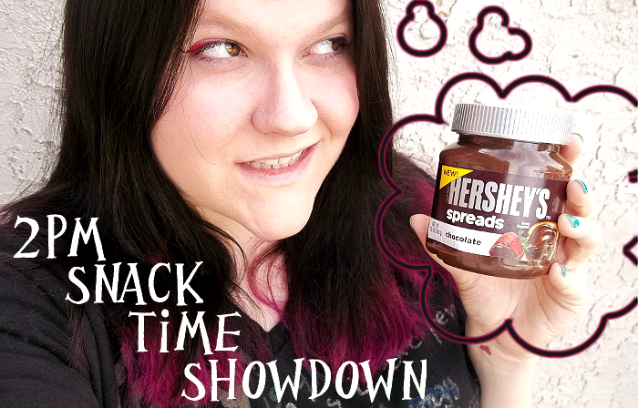 Snack Time With Hershey's Spreads #ad