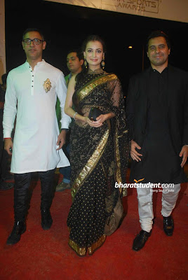 Dia Mirza saree images