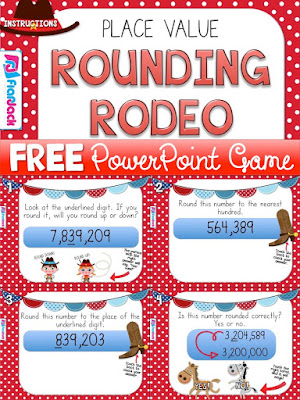 Free PowerPoint Rounding Game
