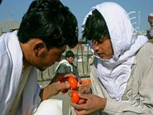 Di Afghanistan, Lebaran adalah Adu Telur