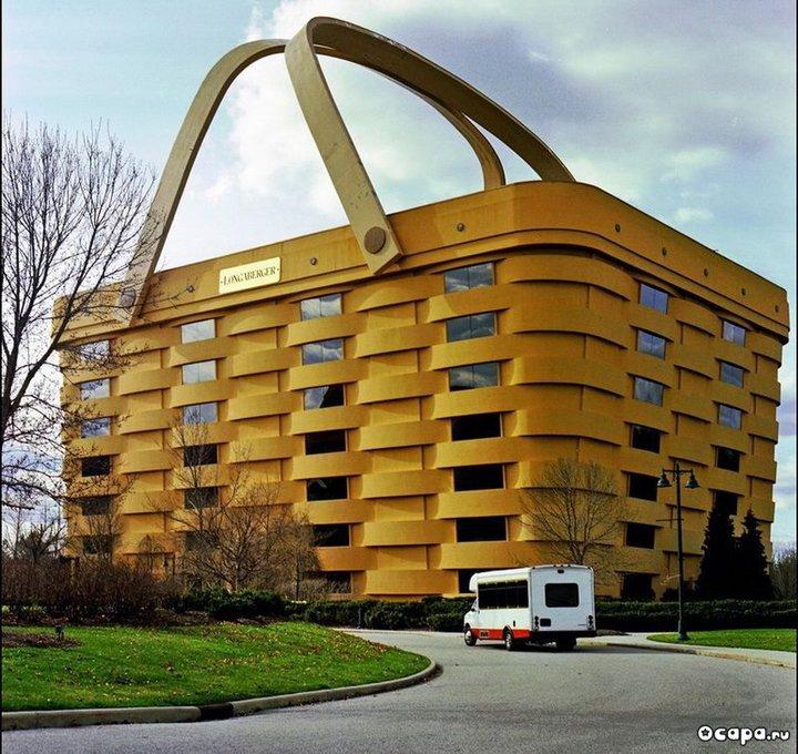 Civil On Fire Longaberger Basket Building Newark
