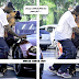 SHAQUILLE O'NEAL PHOTO'D HUMPING HIS GIRLFRIEND HOOPZ . . . ON THE SIDE OF THEIR CAR!! (GET A ROOM GUYS)