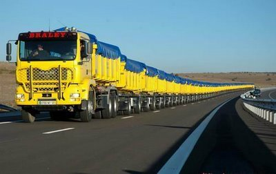 amazing longest truck in the world