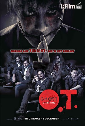 O.T Ghost Overtime 2014 poster