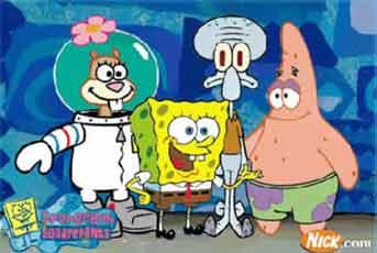 SpongeBob Sebabkan Masalah Belajar Anak 4 Tahun