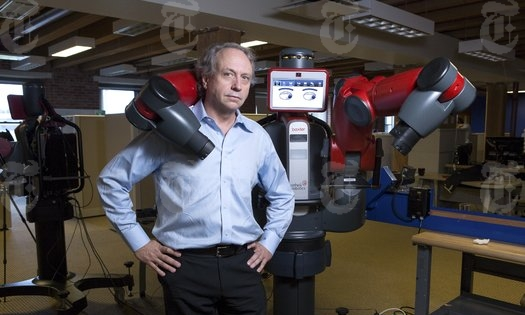 Baxter the robot from Rodney Brooks