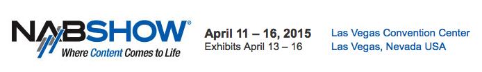 Canon USA at the 2015 Nab Show Las Vegas 11 - 16 April 2015