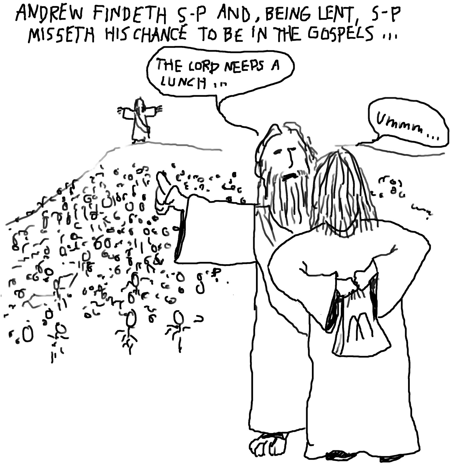 Pithless Thoughts: Unknown Bible Stories #1 - Feeding the 5000