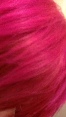 Special Effects Virgin Rose dye hair swatch