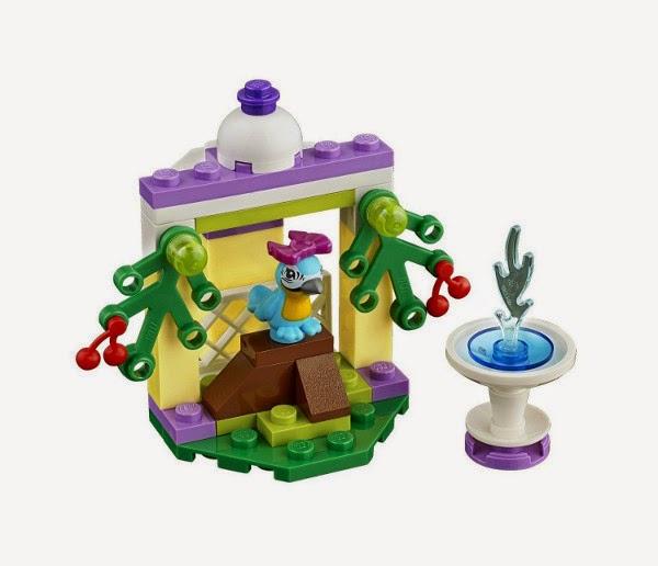 TOYS - LEGO Friends - 41044 La Fuente de la Guacamaya Juguete Oficial | A partir de 4 años