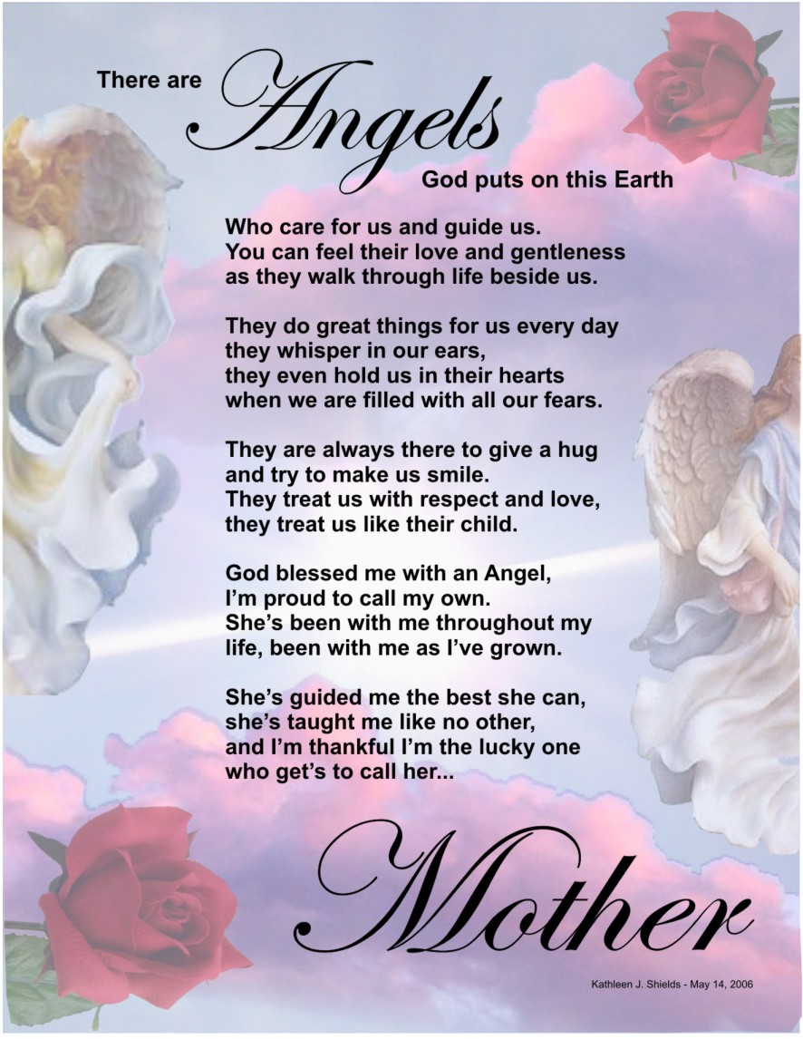Poems of Mothers Day...
