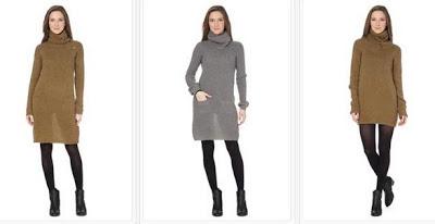 Vestidos en color caqui o gris