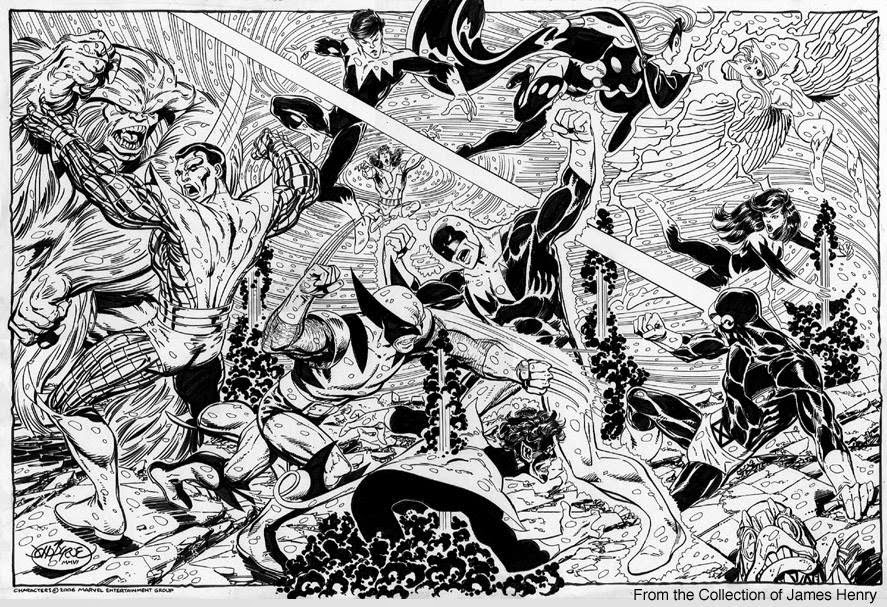 The X-Men vs Alpha Flight