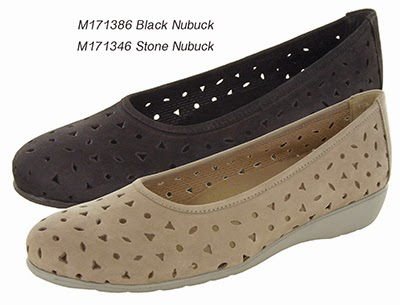 Munro Aubrey - Black and Stone Nubuck