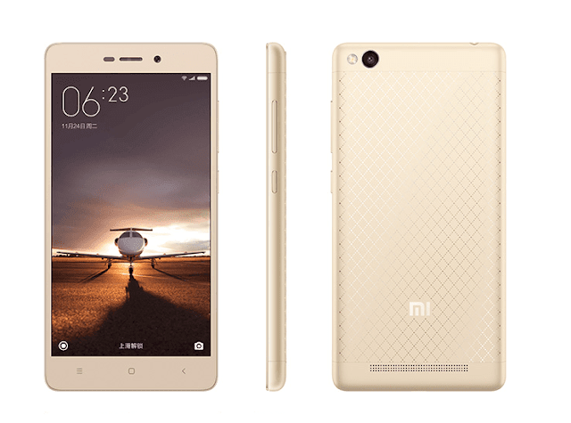 Xiaomi Redmi 3 Unveiled With 4,100mAh Battery For only $105