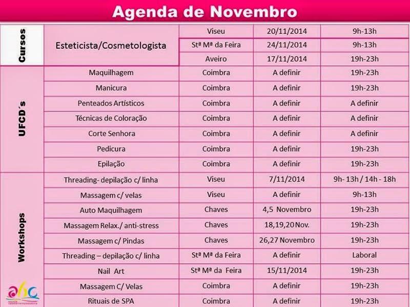 Cursos na área de estética e cabeleireiro em Aveiro, SM Feira, Viseu, Chaves e Coimbra