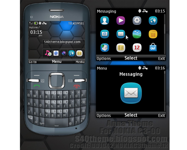 Nokia C3 - Full phone specifications