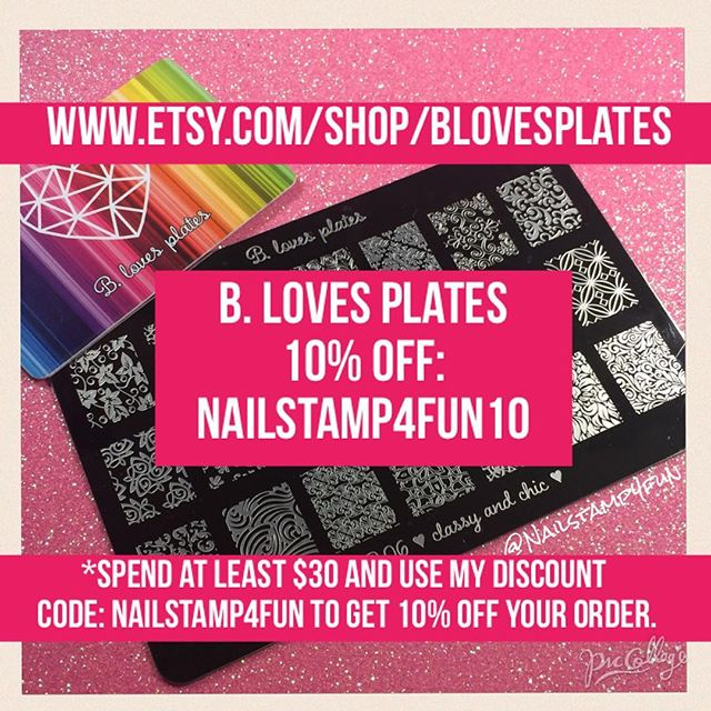 B.Loves Plate 10% Off Code
