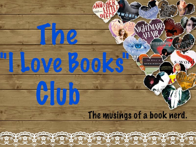 I Love Books Club
