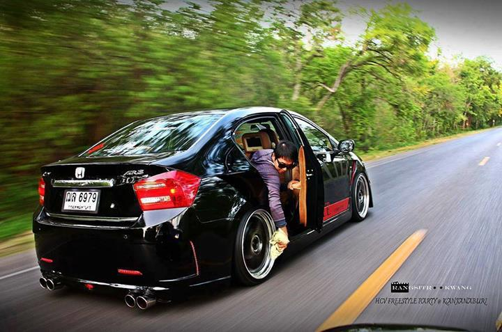 Modified Cars Modified Honda City 2012