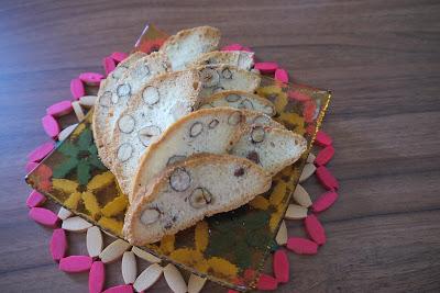 Lieskovcovo- mandľové sušienky