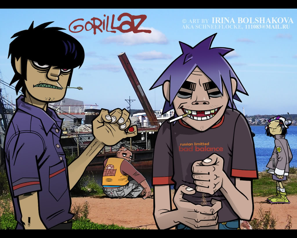 Y Gorillaz gorillaz hd | My Wallp...