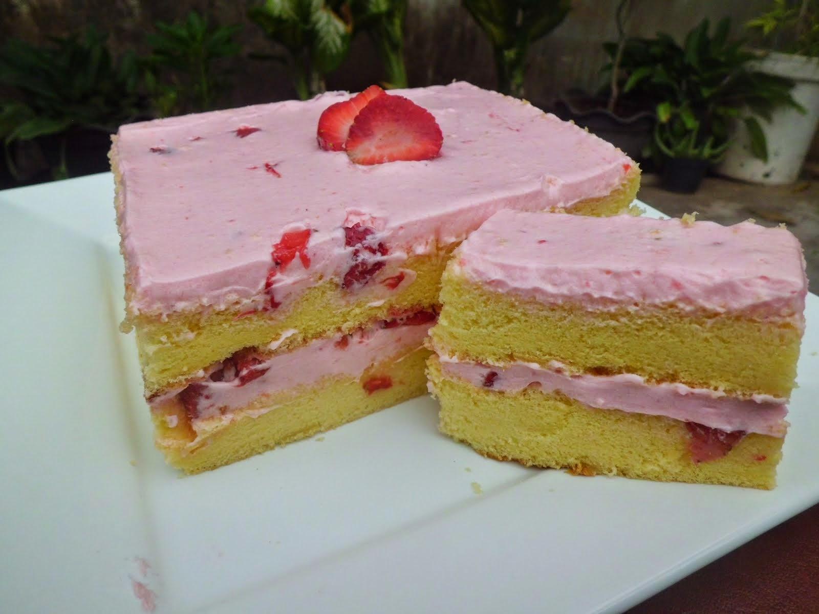 Strowbery Cake