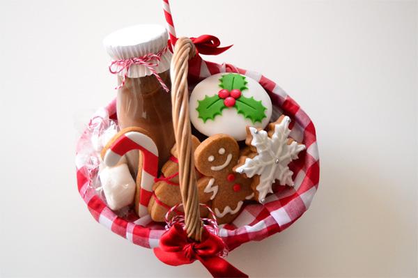 cestitas dulces de navidad la chica de la casa de