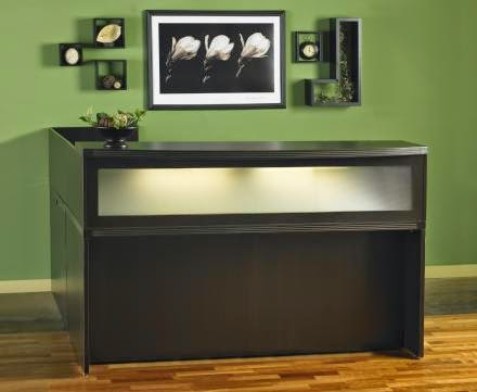 Aberdeen Reception Desk by Mayline