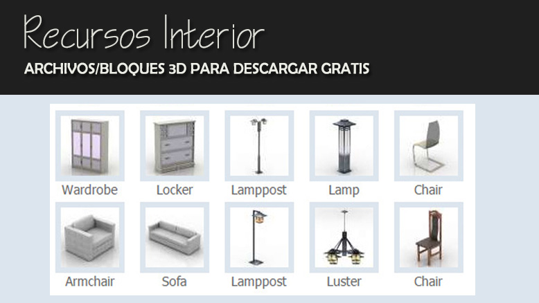 Lamparas estar al d a en tecnolog a es for Muebles 3d gratis