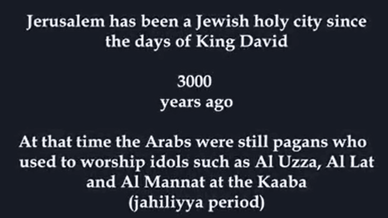 secondly jerusalem has seen its central part demolished and rebuilt many times the most prominent one being this