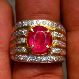 ... corundum biasa disebut batu permata ruby batu permata rubi batu merah