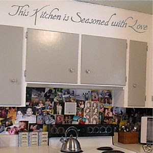 Letters Wall Art Decals Sayings Kitchen Words - kootation.