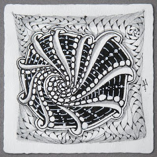 Рисовать Zentangle - значит