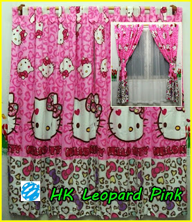 Gorden Motif Kartun Hello Kitty, Gorden Anak Hello Kitty, Gorden Anak Karakter Kartun Hello Kitty