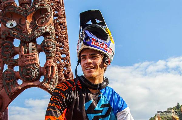 Inaugural Crankworx Rotorua - Loic Bruni Downhill Winner