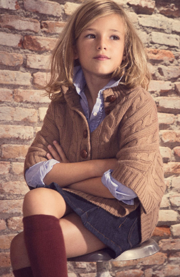 moda niña otoño invierno 2011 2012
