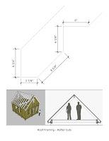 planos y bosquejos de casita pequeña