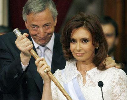 Gracias Néstor. Fuerza Cristina.