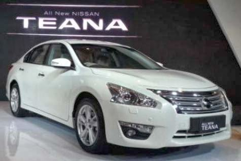 Gambar Mobil Sedan All New Nissan Teana 2014