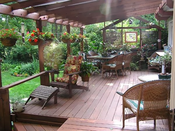 Decorating A Patio Prepossessing With Small Deck Decorating Ideas Picture