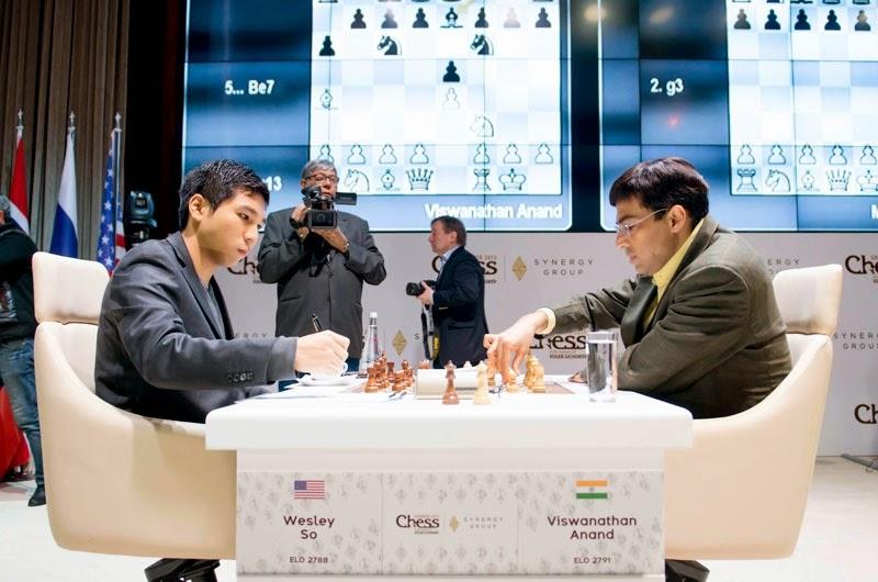 Shamkir Chess 2015. Anand - So