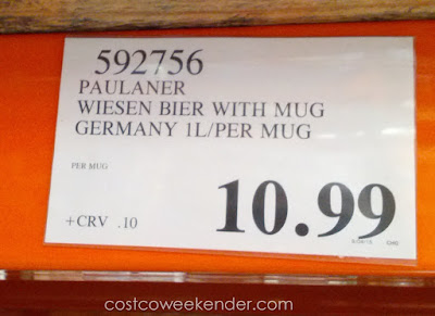 Deal for the Paulaner Munchen Oktoberfest Wiesen Bier with Limited Edition Mug at Costco