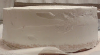 tutorial base torta da ricoprire in pasta di zucchero...