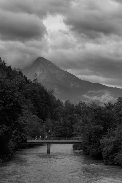 Hohenfels Volks: Berchtesgaden Black and white