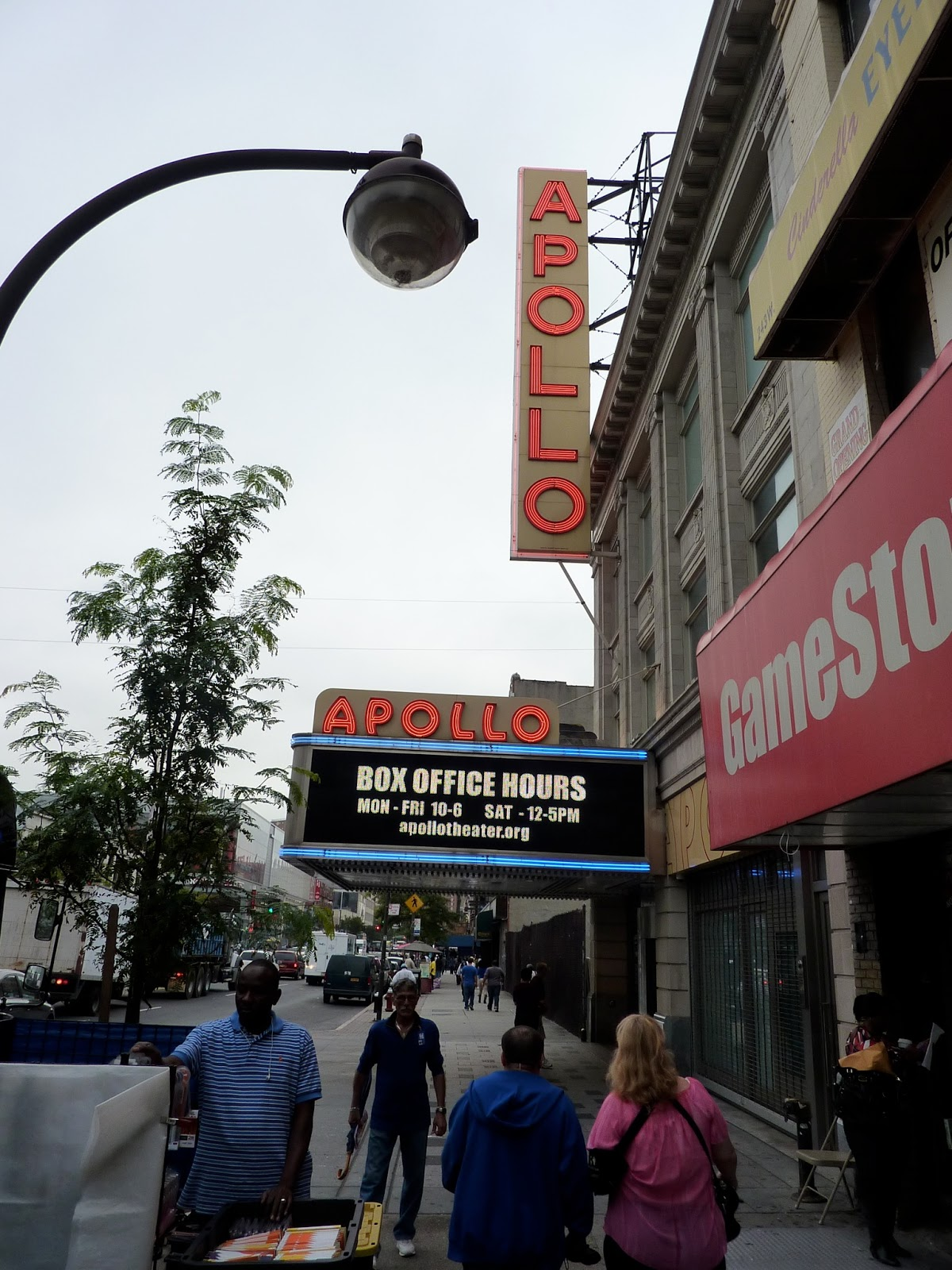 Harlem's Apollo Theatre - An Interview with historian and curator Billy Mitchell by Jim Emery. ""