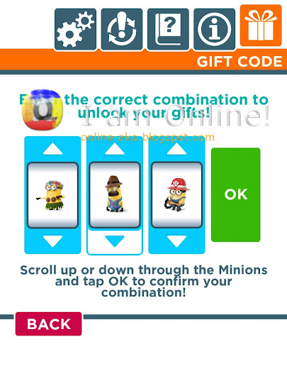 Despicable Me: Minion Rush Gift Codes 2
