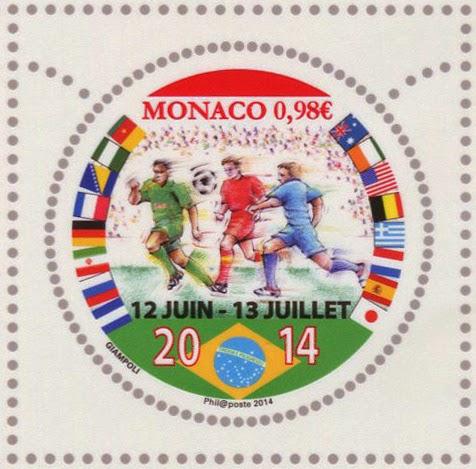 Monaco: FOOTBALL IN BRAZIL - WS Philately News