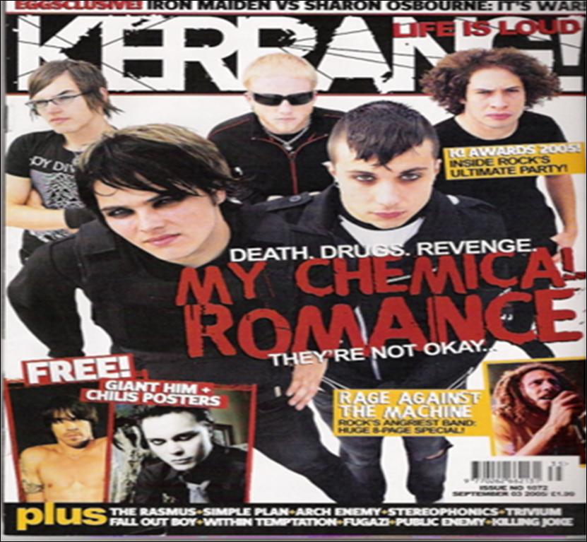 Tasnema's Media Blog: Analysis of different music magazines