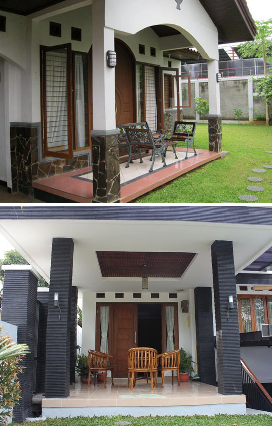 kumpulan model teras rumah minimalis desain rumah minimalis